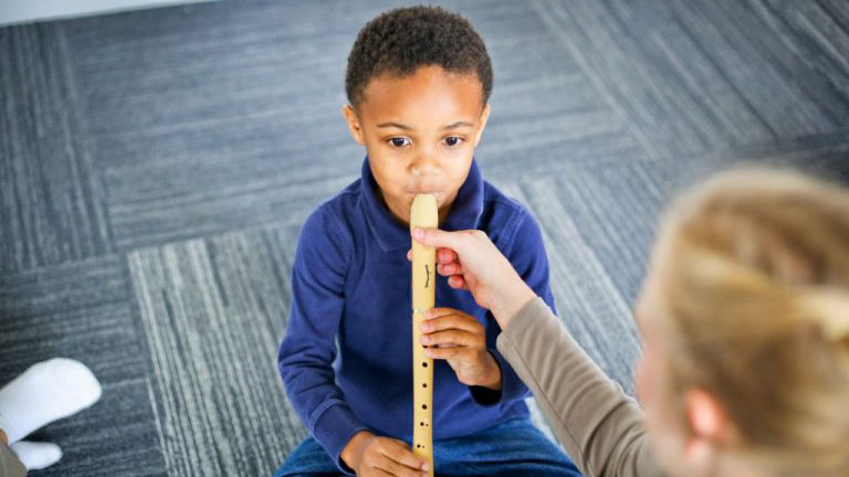 Helping your child enjoy their music lesson